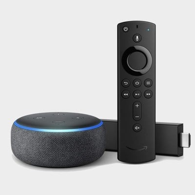 Fire TV 4K + Echo Dot 3rd gen