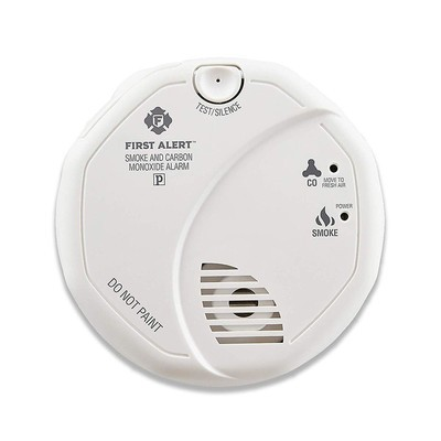 First Alert Powered Alarm Combination Smoke and Carbon Monoxide Alarm