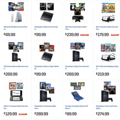 GameStop has B2G1 free pre-owned games, consoles and more