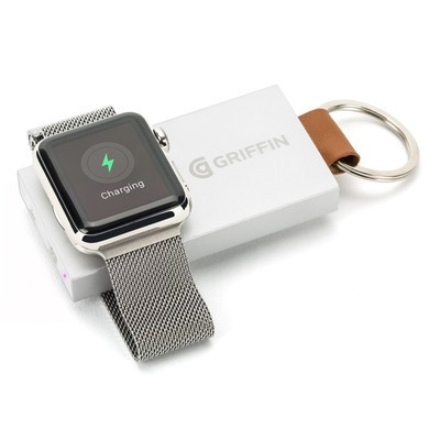 1c80d6ccfdfe Clip Griffin s discounted Apple Watch Power Bank to your keys and leave  your charging cable at home