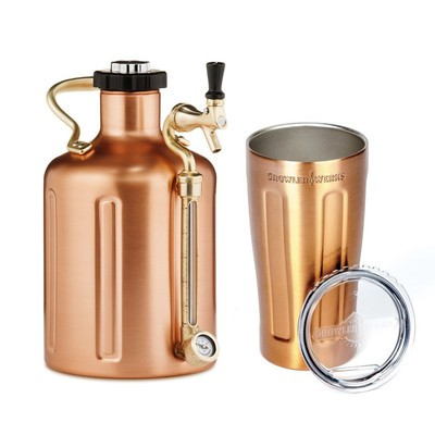 6b28723b15 Use this discounted GrowlerWerks gear to keep your craft beer fresh for  longer. Whether you want a vacuum insulated ...