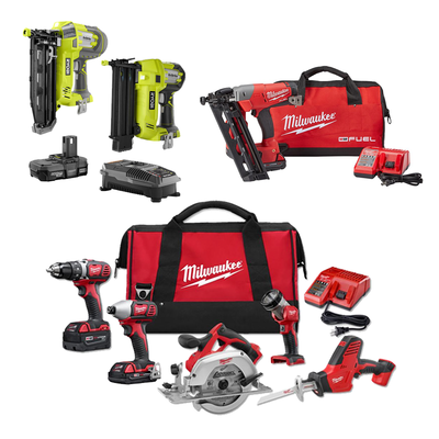 Home Depot S One Day Sale Offers Deals On Nail Guns Drills