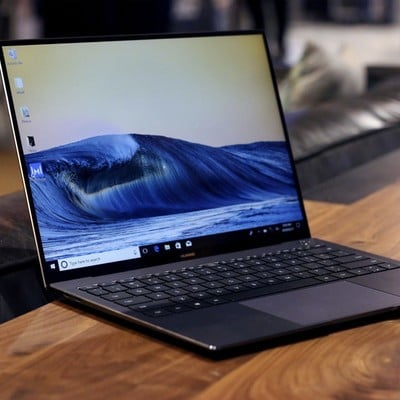 The Huawei MateBook X Pro 13 9-inch laptop is $150 off at a