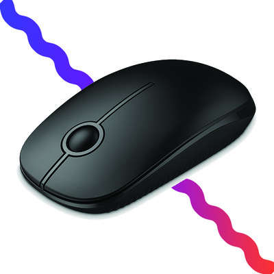 This $6 Jelly Comb wireless optical mouse is a great portable solution