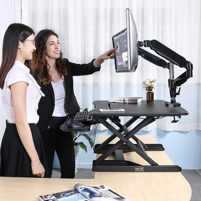 6a8a7e2dd14 Stop sitting all day with Langria s  108 standing desk converter