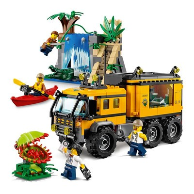 10a8619da696a Venture out with the $36 Lego City Jungle Explorers Mobile Lab building kit
