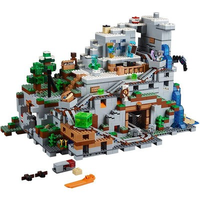 Lego Minecraft The Mountain Cave Building Kit (21137)