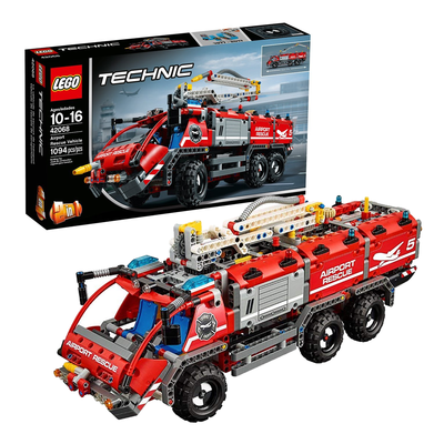 Jet Over To Amazon And Snag The Lego Technic Airport Rescue Vehicle