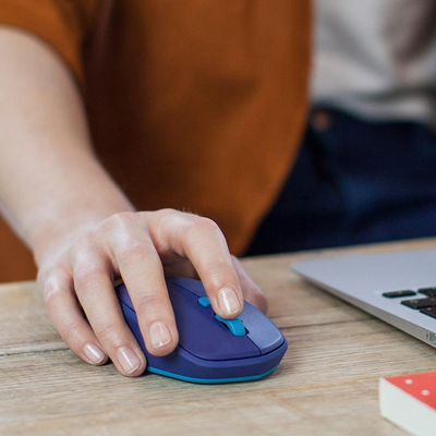 This $15 Logitech Wireless Optical Mouse uses Bluetooth to
