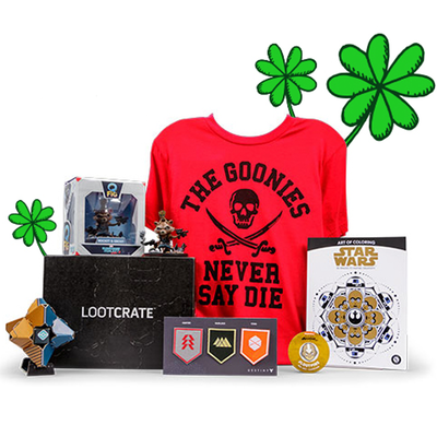 Get a free mystery box with this 20
