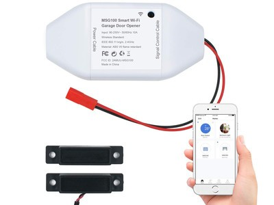 Open your garage door using just your phone by adding this $36 accessory