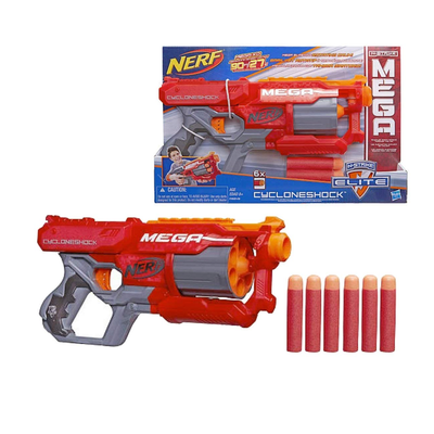 2ec3bbdc2234a Nerf fans can score with the Mega CycloneShock Blaster on sale for ...