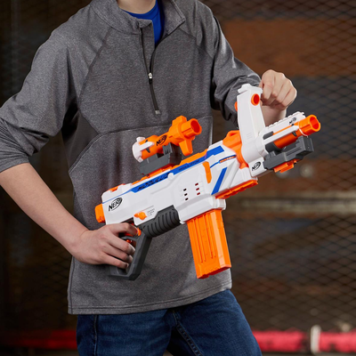 Send Your Friends Running For Cover With The  Nerf Modulus Regulator