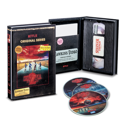 Stranger Things Season 1 or 2 4K and Blu-Ray Collector's Edition releases