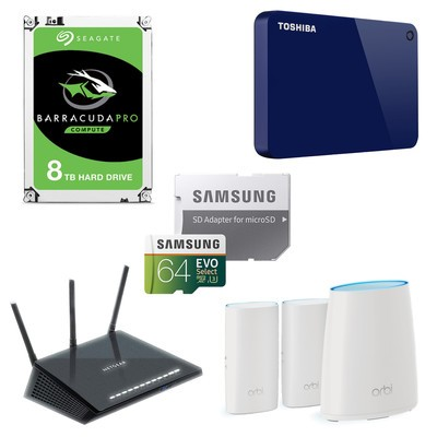 Networking and storage sale