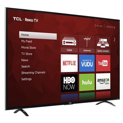 1d6f2ff5b Stream your favorite shows with a  400 refurb TCL 55-inch 4K Roku TV