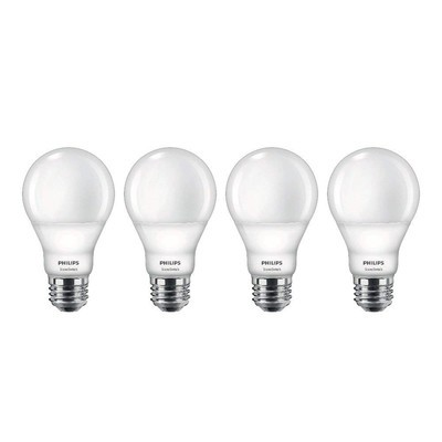 4-pack Philips LED SceneSwitch soft white A19 light bulbs