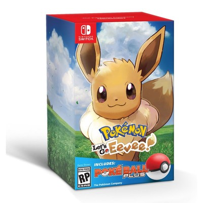 0c346aebe61 You can pre-order the Pokemon: Let's Go, Eevee! Pokeball Plus Bundle for  Nintendo Switch