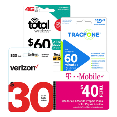 Save 10% on prepaid phone refill cards with email delivery