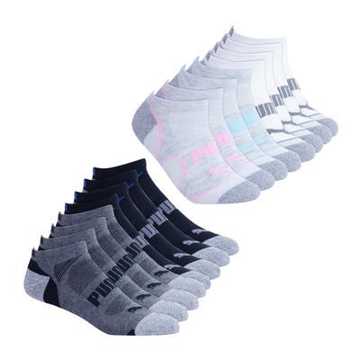 e45febddd6a1 Pick up 8 pairs of comfy Puma No-Show socks for just  9 each