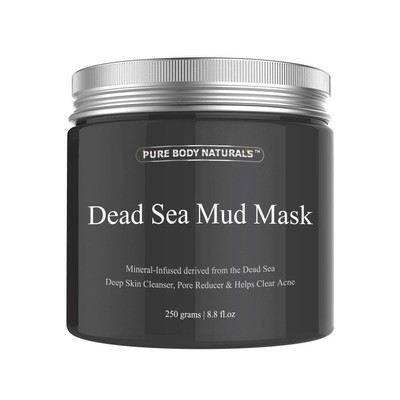 5f58503e03a Cleanse and purify your skin with this  12 Pure Body Naturals Dead Sea Mud  Mask
