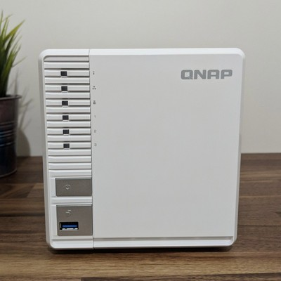 Qnap TS-328 3-bay Diskless Personal Cloud NAS Storage System
