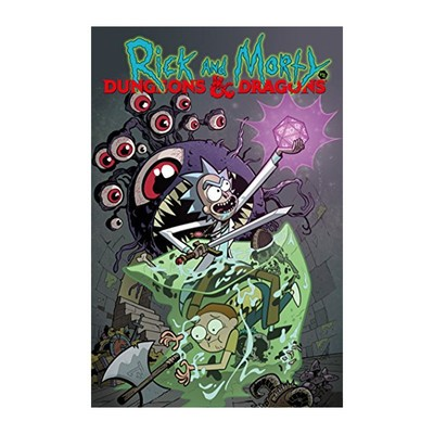 8cc381c3288e77 Pre-order Rick and Morty vs. Dungeons   Dragons on Kindle for only  2