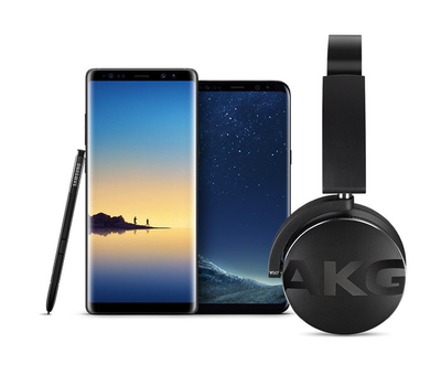 a78f7662983 Score a free set of AKG Bluetooth headphones with a Galaxy S8 or Note 8