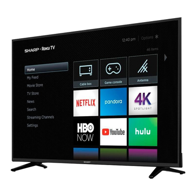 finest selection 11626 9ac83 You can score  200 off this Sharp 58-inch 4K Smart UHD Roku TV right now