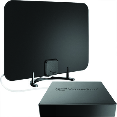 Get the HDHomeRun Connect Duo and an HDTV antenna for $90