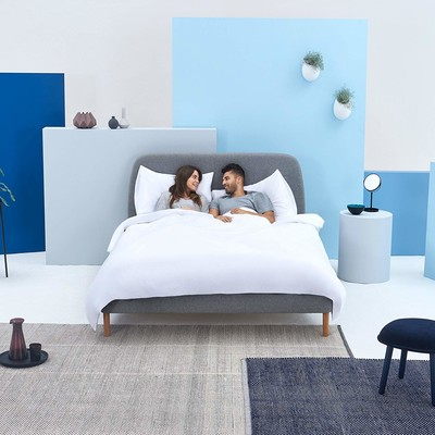 244ed3f42f81 Sleep easy with 35% off SIMBA upholstered bed frames today only
