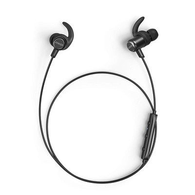 aa01024056d Pump up your workouts with Anker's SoundBuds Slim+ Bluetooth Headphones at  over 25% off