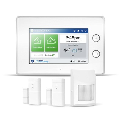 Samsung SmartThings ADT wireless home security DIY starter kit