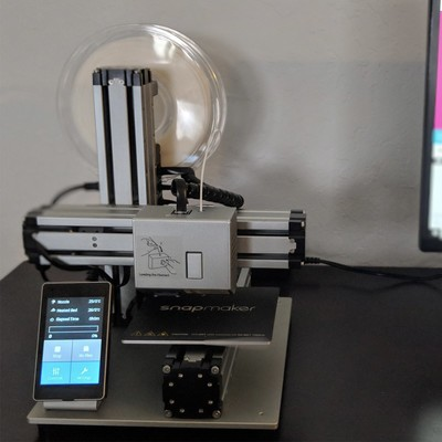 19df3a0302dd Explore your creative side with  100 off the excellent Snapmaker 3-in-1 3D  Printer