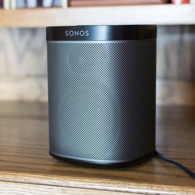 Two Sonos Play:1 speakers and $30 gift card