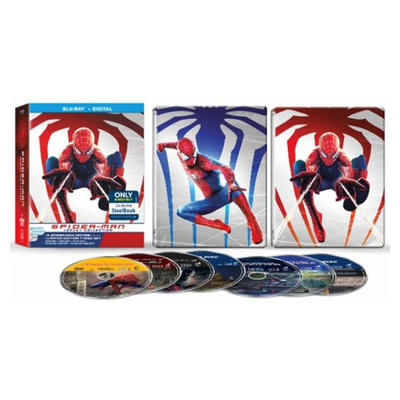 8b9f19294e7 Swing over and pick up the Spider-Man Legacy Collection Blu-ray SteelBook  for  35
