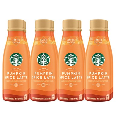 Starbucks 8-Pack Iced Pumpkin Spice Latte