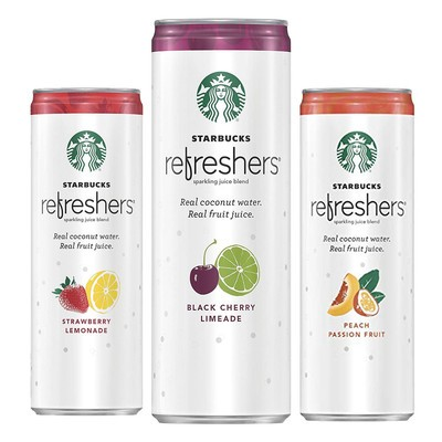 Sip On Twelve Cans Of Starbucks Refreshers For 11
