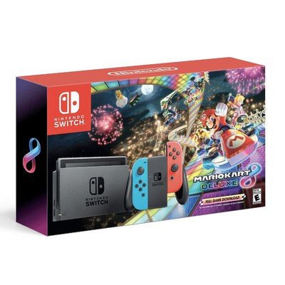 195775720631f Nintendo Switch is a hot ticket item this holiday, and the Black Friday  bundle includes Mario Kart 8 for free