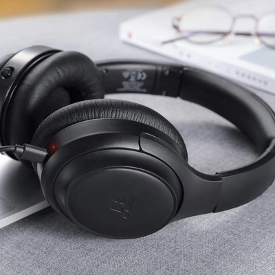 TaoTronics active noise-cancelling over-ear Bluetooth headphones