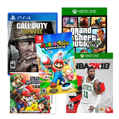 Target's offering 50% off games with purchase of another at