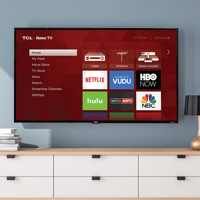 Steam Netflix, Hulu, and more right from this $130 TCL 32