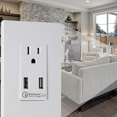 Topgreener USB outlets