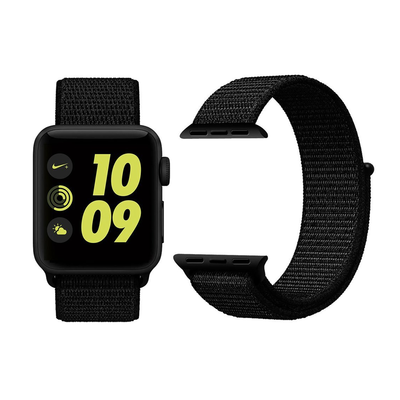 cc6d439948014b Strap on this woven nylon Apple Watch band for just $8