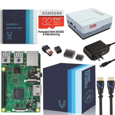 760c85ff6fb81 This  66 Raspberry Pi 3 starter kit has all you need to play your favorite  retro games