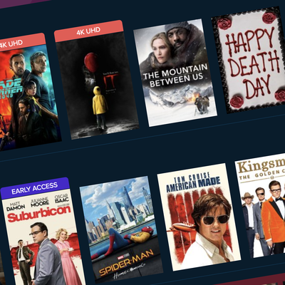 Take 20% off any digital film or TV show purchase at Vudu