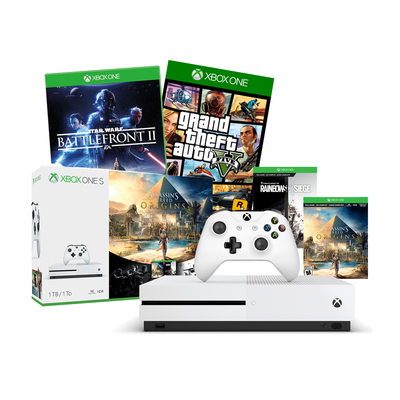 Intelligent Xbox One S 1tb Empty Box Only-no Outer Sleeve Big Clearance Sale Video Games & Consoles