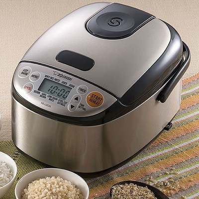 The Zojirushi Neuro Fuzzy Rice Cooker and Warmer is $128