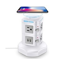 Glcon Multi Outlet Wireless Charging Station