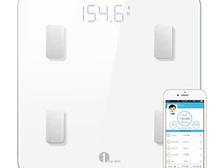 Keep in touch with your goals using this $23 1byone Bluetooth body fat scale